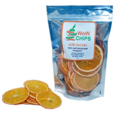 Апельсиновые фруктовые чипсы